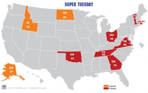 Super Tuesday by the Numbers