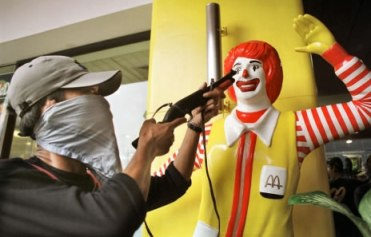 I'd hate to see Ronald end up as collateral damage, but these are tough times.